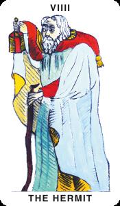 VIIII. The Hermit