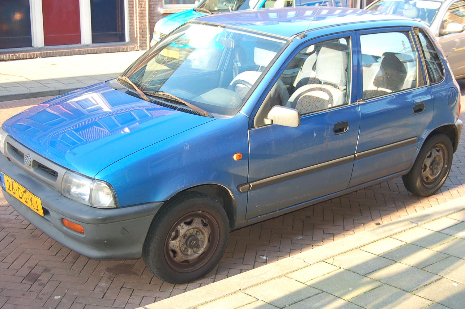 Mijn Blauwe Mercedes